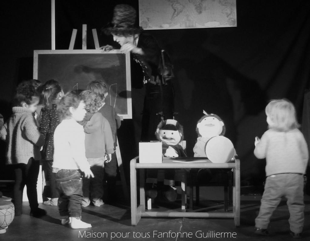 Les enfants spectateurs et acteurs !