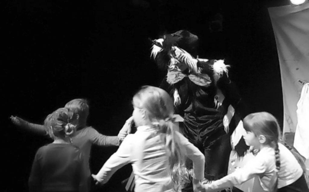 Le petit chat magicien Montpellier- Théâtre du carré rondelet- Octobre 2015 - Photo Anthony Bannerot